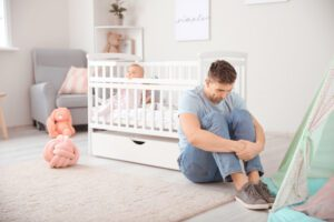 postpartum depression men