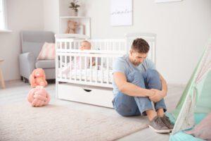 postpartum depression men